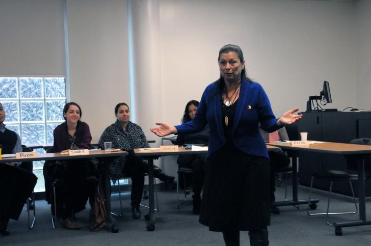 Aboriginal sensitivity training