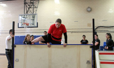 Lakeshore students have OPP work-out