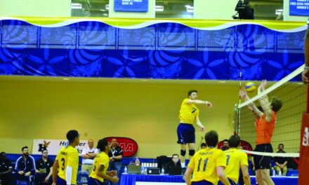 Hawks men's volleyball look ahead to national title after provincial defeat