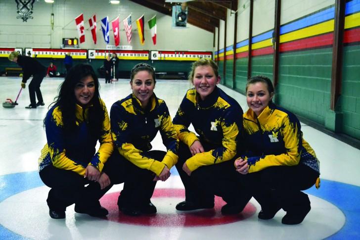 Hawks curling preparing for championship runs