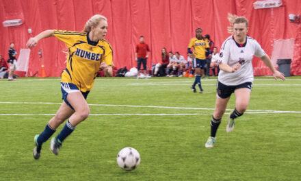 Hawks relinquish indoor soccer crown to Seneca