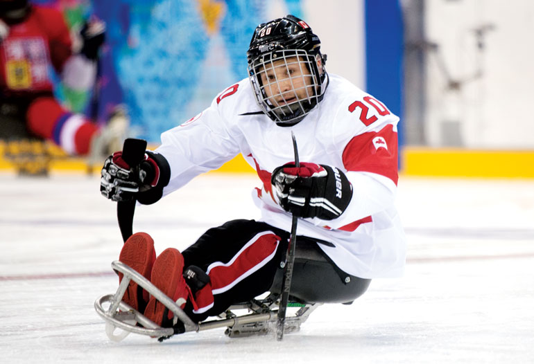 Humber grad wins sledge hockey bronze in Sochi