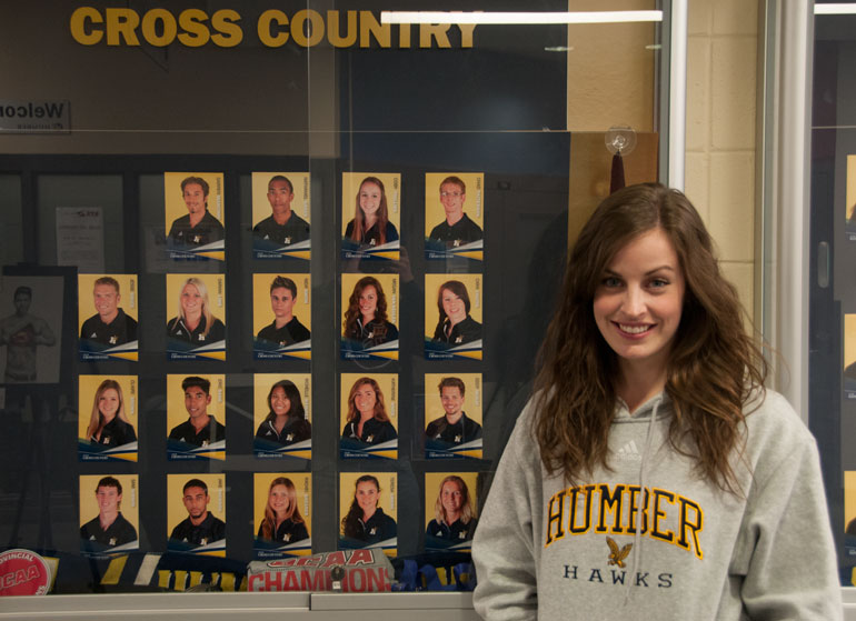 Humber varsity athletes give back with Hawks Have Heart