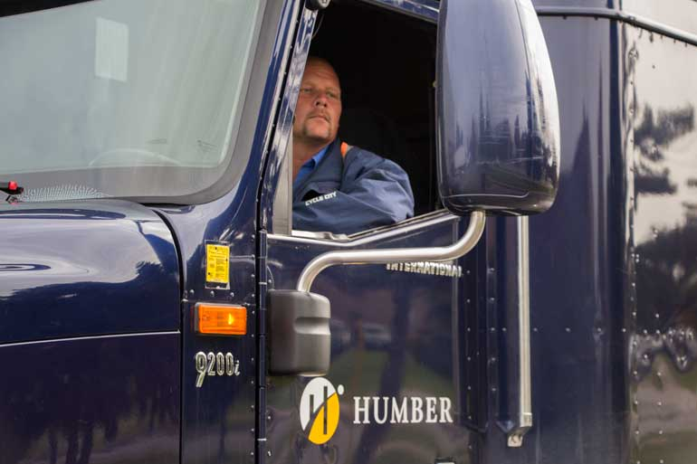 Humber trucking school setting high standards