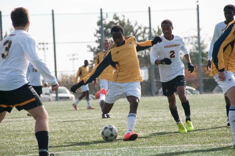 Soccer Hawks kick a path into semifinals