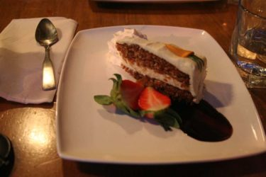 winterlicious - carrot cake