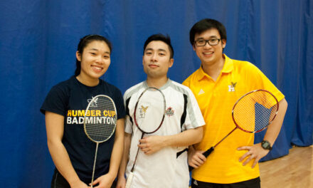 Badminton Wongs leaders for Hawks