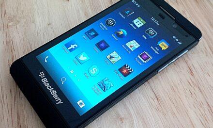 Blackberry making a comeback