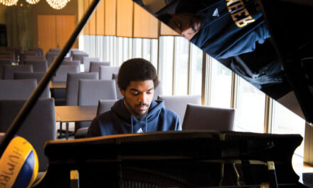 Isaacs: sports star, pianist, valedictorian