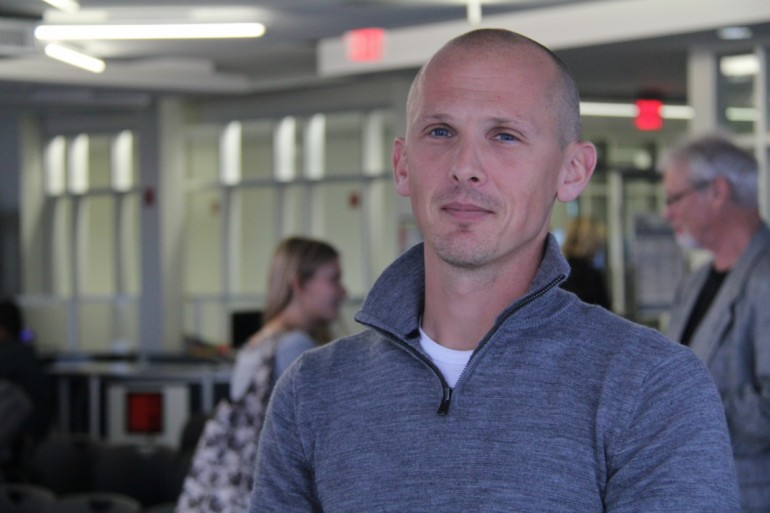 Photojournalist Marc Ellison talks comic journalism at Lakeshore
