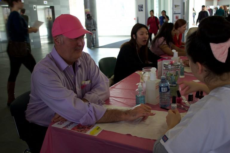 Breast cancer awareness day at Humber