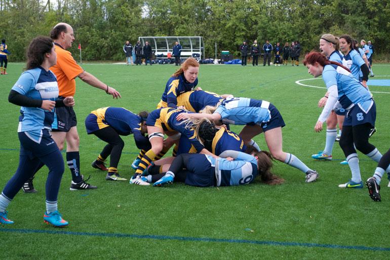 Women's rugby games will be held in Brampton