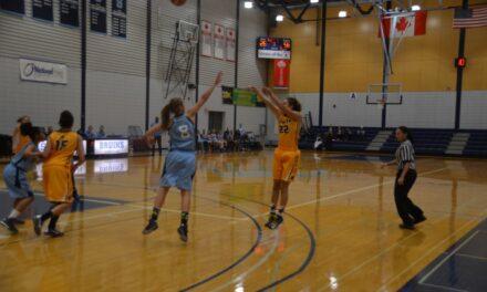 Hawks women's basketball team reign continues