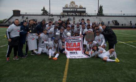 Men's soccer captures 10th OCAA gold