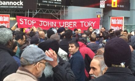 Cab drivers demanding action on Uber regulations