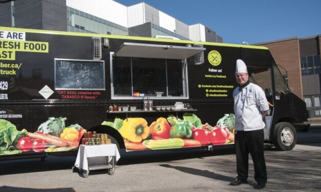 Humber food truck is on a rolling success