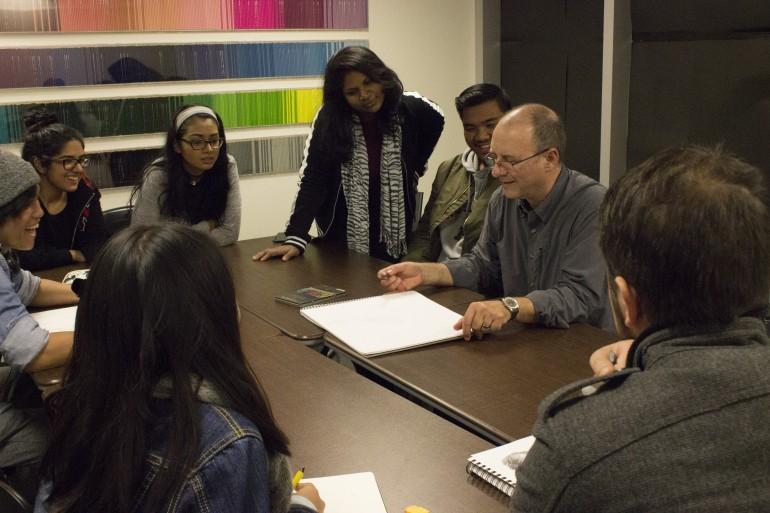 Art-focused workshops practical for technology students