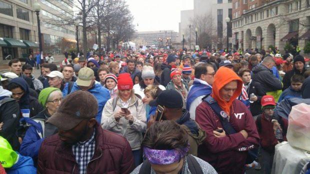 Trump Inauguration packs capital, draws nationwide protests