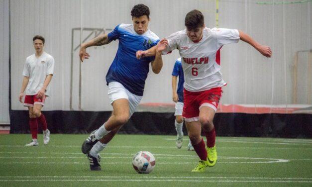 Humber's men's indoor soccer team preparing for regional championship