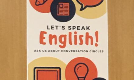Conversation circles aid language development at North