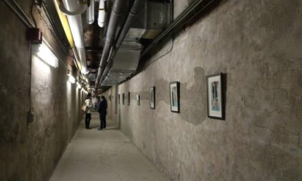 Tunnels at Lakeshore grounds open for art tour of past