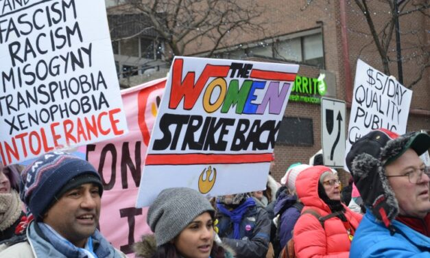 International Women's Day draws thousands