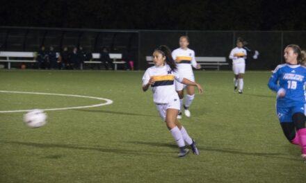 Women's soccer maul George Brown Huskies 6-nil