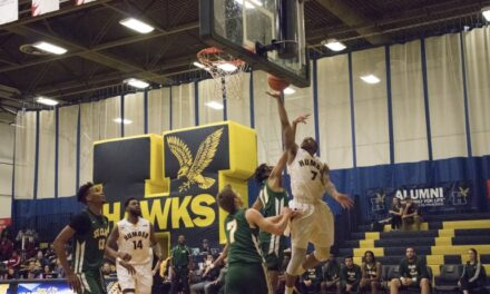 Mens' Hawks veterans join 300-point club