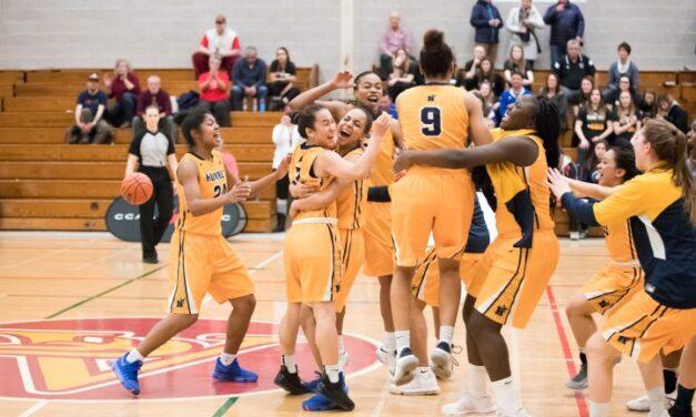 Humber women's' basketball team wins CCAA gold in New Brunswick