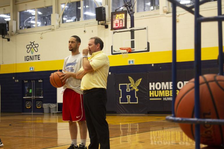 Men's basketball team takes on power of Samson