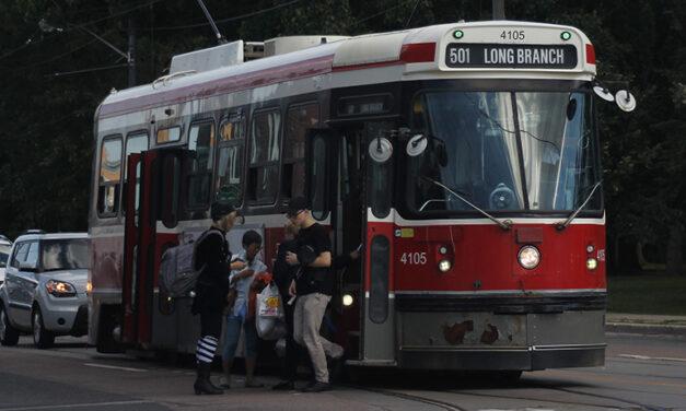 Transit debate falls flat for students