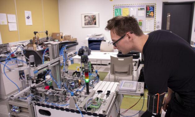 Robotics team training to be well-oiled machine