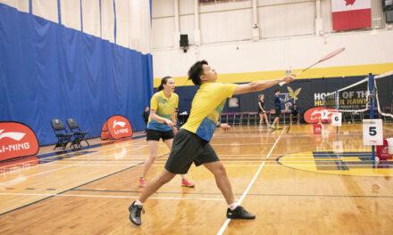 Hawks rule the birdies at badminton tournament