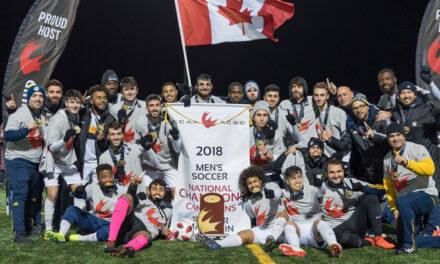 Men's soccer take seventh CCAA title