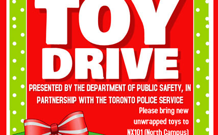 Humber partners with Toronto Police for annual #Santa9114Kids toy drive