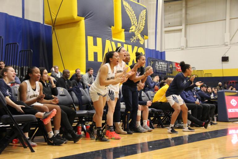 Women Hawks drub UTM with 46 point margin