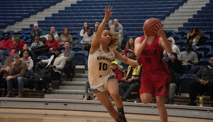 Fanshawe ends Humber's women basketball win streak