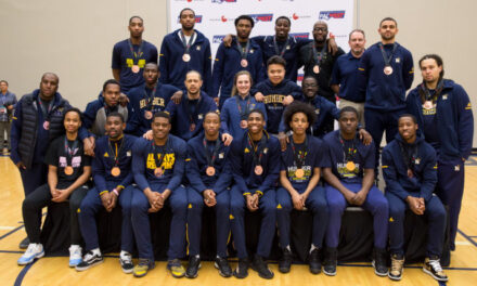 Men's basketball battles from behind to win bronze in Nationals