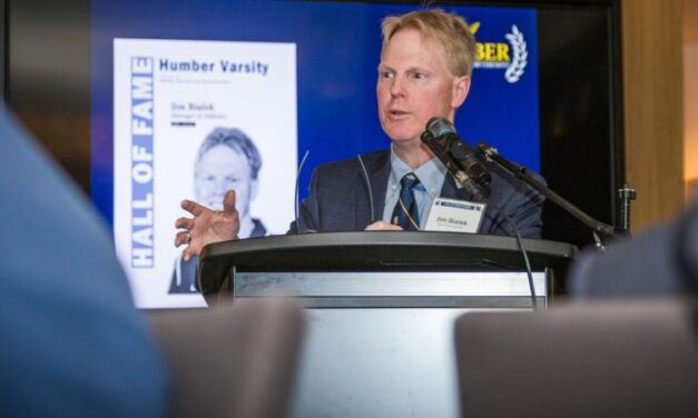 Jim Bialek is retiring after 40 years with Humber