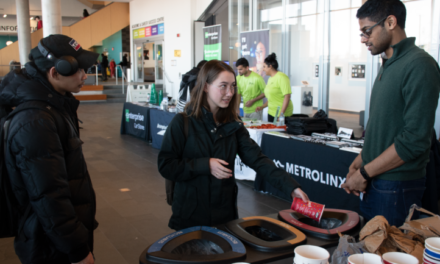 Students find new ways to recycle at Humber sustainability event
