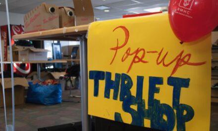 Lakeshore thrift shop sale raises funds for Ronald McDonald House