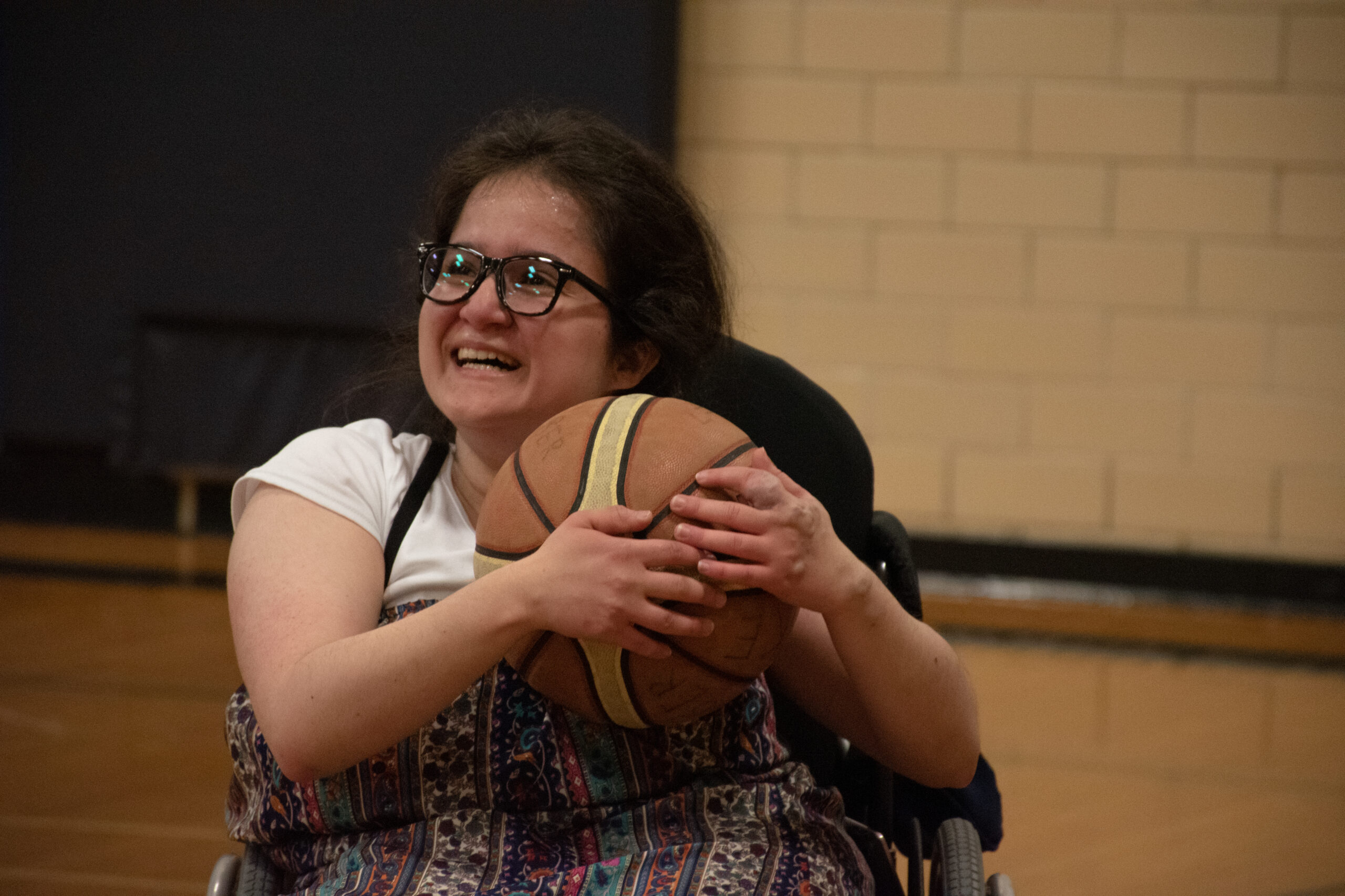 Wheelchair basketball event brings tears of joy and big smiles