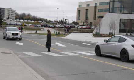 New crosswalks risky for pedestrians