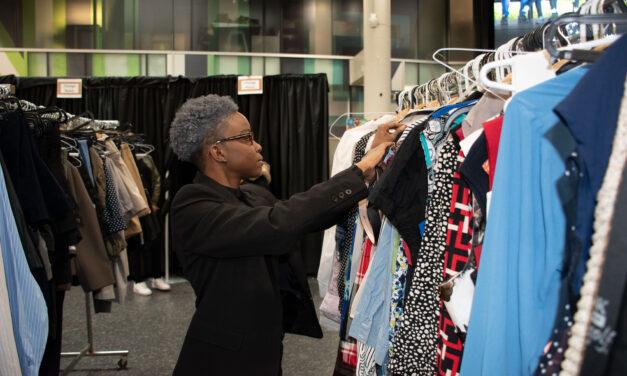 Eco closet helps students dress up on a budget