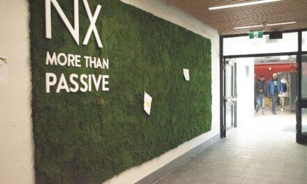 New green wall a breath of fresh air in NX building