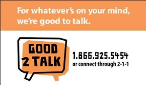 Ontario dedicates $1M for student mental health hotline