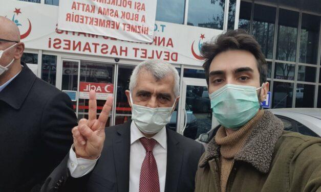 Human rights activist democracy struggle in Turkey