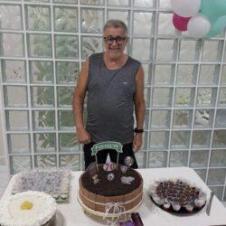 My grandfather, Antonio Alevato, at his 70th birthday party, in 2019.