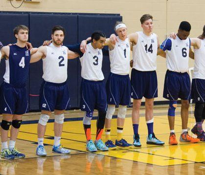 Vacating veterans force rebuild in men's volleyball
